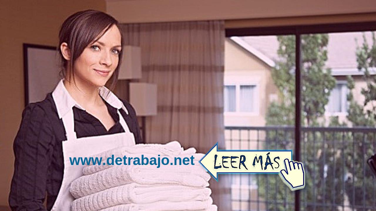 Trabajo de Domestica en casa de familia【2019】