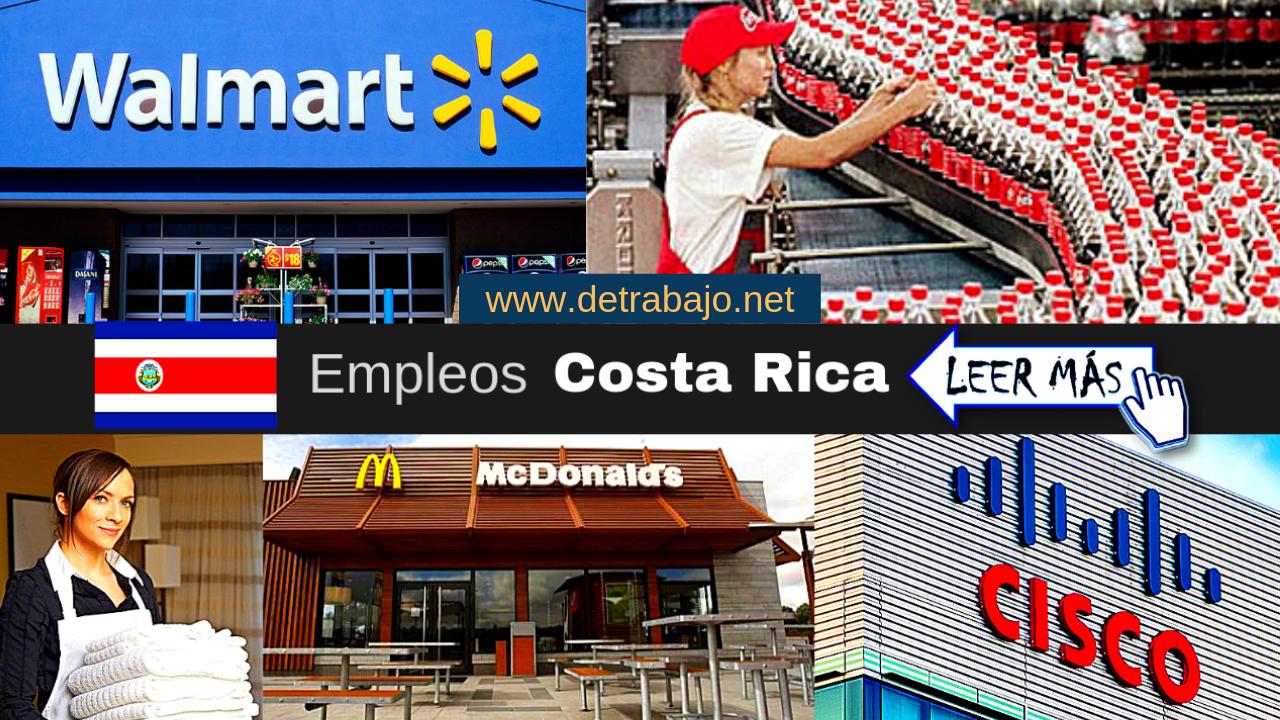 Ofertas de trabajo en Costa Rica Listado de empleos.