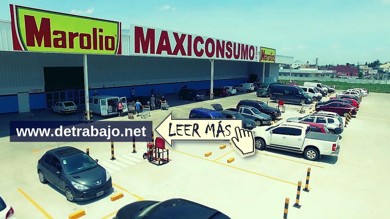 Trabajar en MAXICONSUMO empleos disponibles