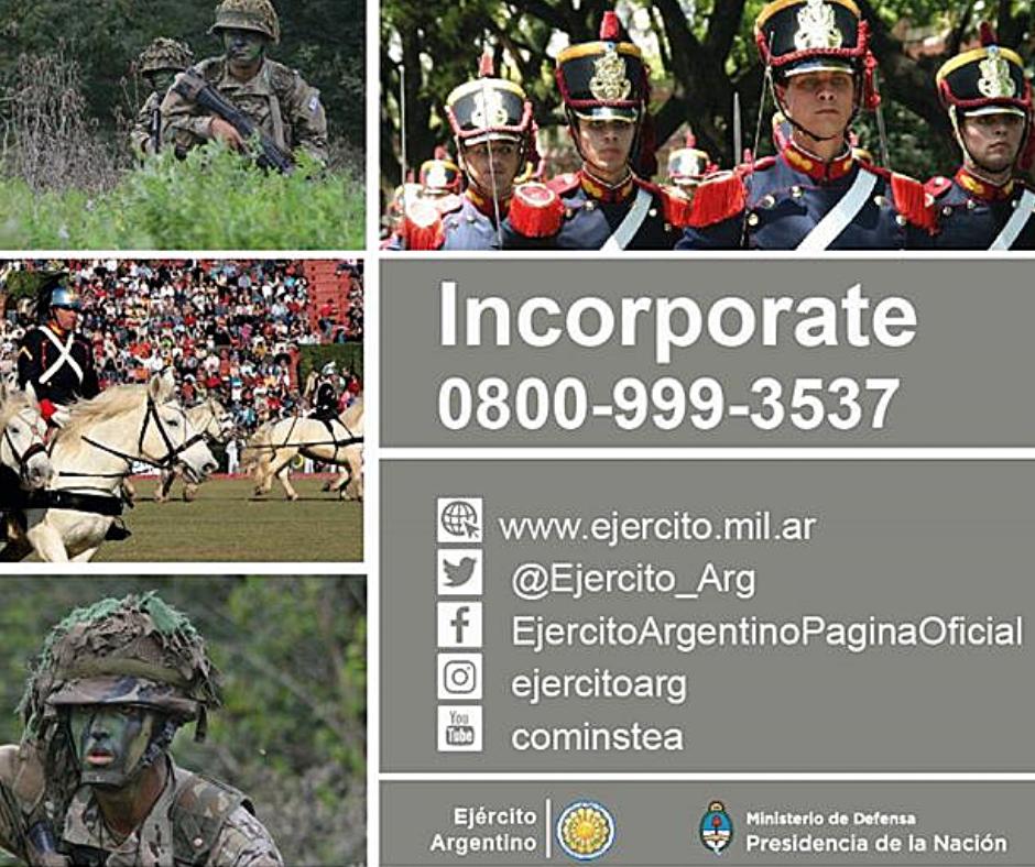 Eliminar término: requisitos para entrar al ejercito argentino como soldado voluntario requisitos para entrar al ejercito argentino como soldado voluntario