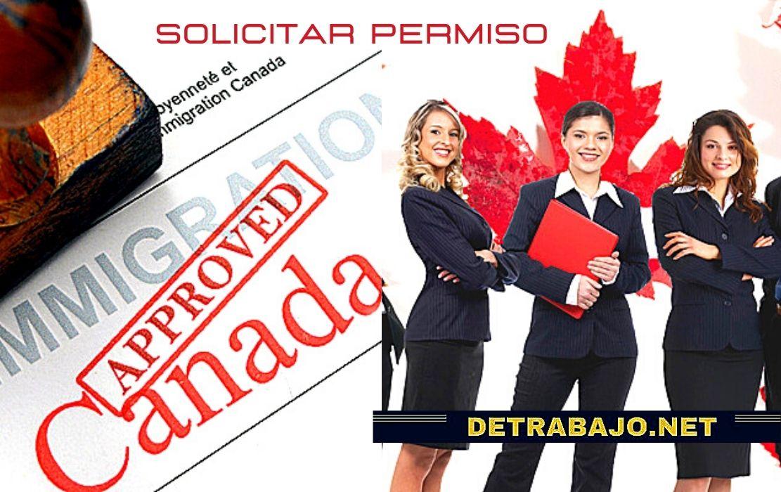 Como Pedir un PERMISO de TRABAJO en CANADÁ 2021